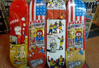 POLAR Skateboard Spring 2014