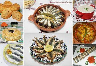 Recettes à base de sardines