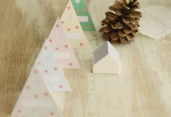 Marque-places sapin {printable}