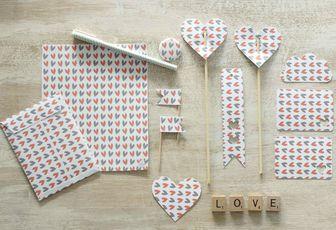 Papier pour Valentin ou Valentine {Printable}