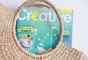 Gagnez 1 an d'abonnement au magazine Créative (terminé)