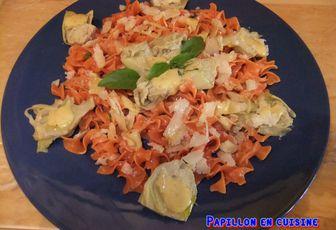 Recette: Salade de pâtes et aux coeurs d'artichauts