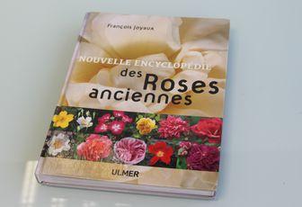 """Le livre """"Nouvelle Encyclopédie des roses anciennes"""""""