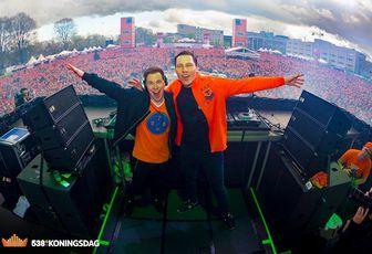 Tiësto And Hardwell photos | Koningsdag  | Breda, Netherlands - april 27, 2016