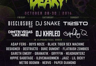 Tiësto date | Freaky Deaky | Bridgeview, IL - October 30, 2016 | Halloween Party