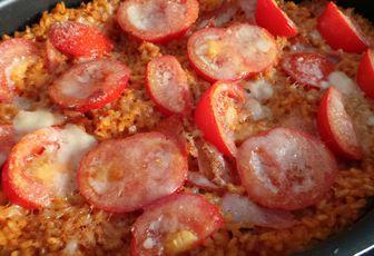 Risotto Bacon Tomate Basilic