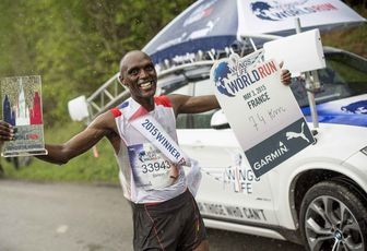 Wings for life Runner World Run : Performances et solidarité réactions de Thibaut Baronian et François D'Haene.