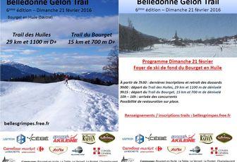 Belledonne Gelon Trail le 21 février prochain !