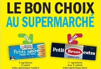 Livre du jours : Le bon choix au supermarché