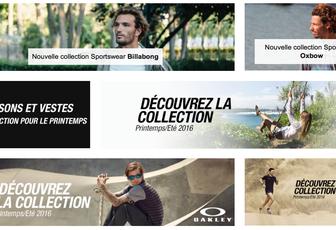 Nouvelle collection Vêtements de sport Printemps/Eté 2016