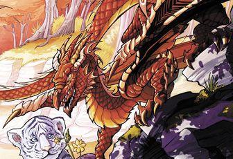 Le Silence des dragons, d'Alizée Villemin
