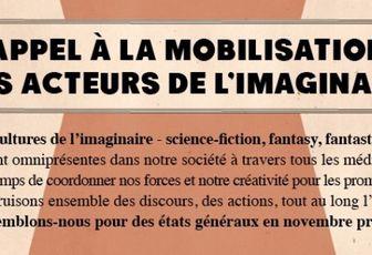 Appel à la mobilisation pour l'imaginaire !