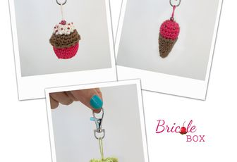 "Créa # 4 Bricole Box ""The One"": Tuto porte-clefs chez La chouette !"