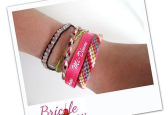 """Créa # 4 Bricole Box """"The One"""": Un bracelet manchette"""