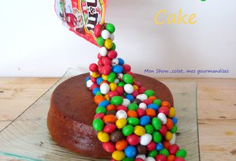 Gravity Cake (moelleux au jus d'orange et pépites de chocolat)