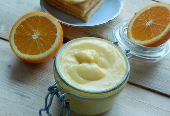 Curd Orange (crème à l'orange)