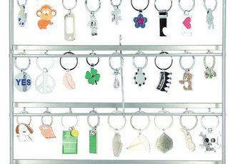 Porte-clés en métal (3D keyholder) - Assortiment