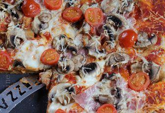 Pâtes à pizza en MAP ou pas (pâte à pain & pâte au son d'avoine à IG bas)