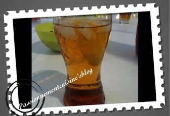 Vodka pomme caramel