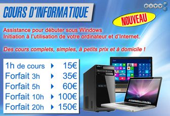 ☑ INITIATION INFORMATIQUE À DOMICILE