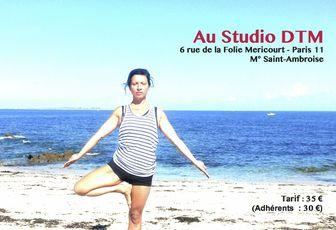 Atelier de yoga - Samedi 22/11 - Ouverture et Energie !