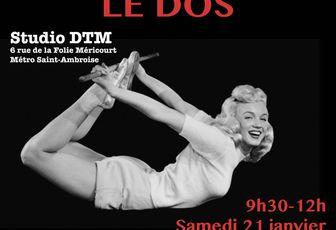"Atelier de yoga : ""le dos"" - Samedi 21 janvier"