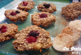 Recette bio : cookies express aux flocons d'avoine