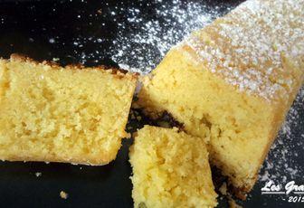 Recette bio : Cake au citron facile