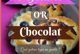 Recette : gateau léger myrtilles et chocolat