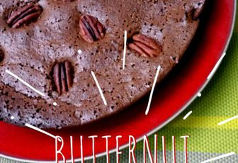 Recette : brownie chocolat à la courge butternut