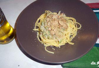 Recette : spaghetti sans gluten à l'écrasé de chou fleur