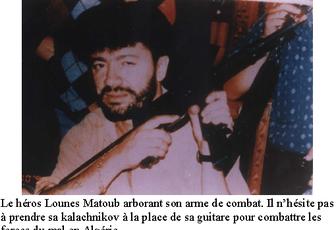 Hommage à Matoub à Nogent-Sur-Oise