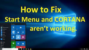 Critical Error – Start menu and Cortana aren't working. We'll try to fix it the next time you sign in.