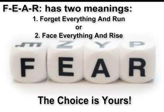 Fear meaning https://t.co/eaVyJouxX7 #quotes