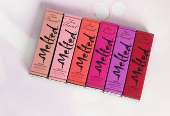 Revue || Les Melted de Too Faced