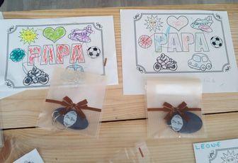 Que de jolis cadeaux pour les papas ... les voici dévoilés