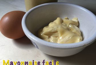 Mayonnaise facile