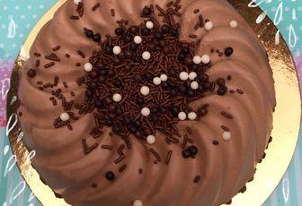 Bavarois  chocolat