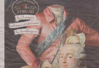 Abject et honteux ! Publicité Louis XVI décapité et le jour du meurtre en Isère...