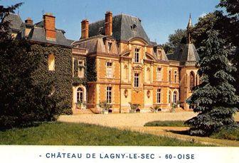 Non à la démolition du château de Lagny-Le-Sec