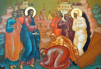 CES LARMES DE JESUS DOIVENT ETRE LES NOTRES POUR TOUS CEUX QUI SOUFFRENT