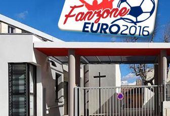 A MARTIGUES, LA FAN ZONE SAINT FRANCOIS