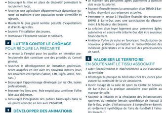 Nos 12 propositions