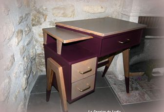 Relooking relooking de meubles meubles patin s for Meuble bureau 76
