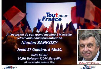 Nicolas Sarkozy à Marseille