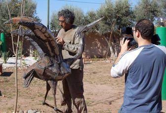 L'artiste sculpteur, LARBI DEDOUANI