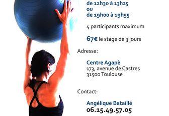 Stage de Pilates Equilibre février 2017