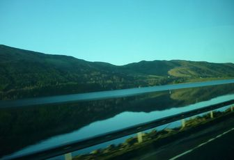On the road - Les Highlands