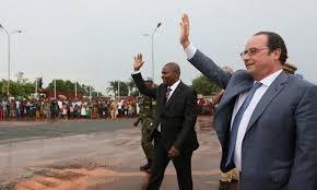 Révélation sur le passage de François Hollande en Centrafrique
