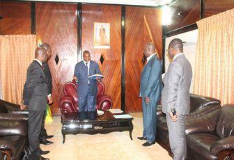 Le Groupe EBOMAF spécialisé dans le domaine de BTP, est arrivée à Bangui